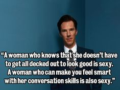 6. When he said this about the fairer sex | 39 times the internet fell in love with Benedict Cumberbatch