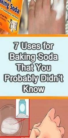 7 Uses for Baking Soda That You Probably Didn't Know  Surprising