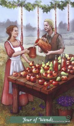 The Green Witch Tarot - Rozamira Tarot - Picasa Web Albums