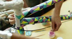 peinture-de-cadre-vélo-fixie  Malarky pr Globe