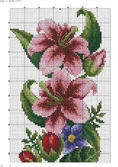 This Pin was discovered by Лил Easy Cross Stitch Patterns, Simple Cross Stitch, Cross Stitch Rose, Cross Stitch Borders, Cross Stitch Alphabet, Bead Loom Patterns, Cross Stitch Flowers, Cross Stitch Designs, Cross Stitching