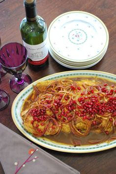 Pomegranate Salmon |