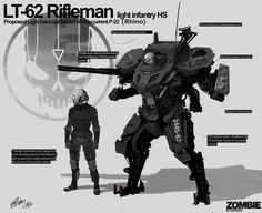 Tribute to Armor Suits - Page 10 Sci Fi Armor, Sci Fi Weapons, Robot Concept Art, Armor Concept, Cyberpunk, Character Art, Character Design, Character Sketches, Powered Exoskeleton
