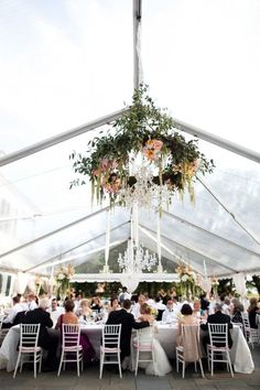 Charleston Wedding at Lowndes Grove .flower chandelier, made with a hula hoop Tent Wedding, Wedding Events, Wedding Reception, Rustic Wedding, Our Wedding, Dream Wedding, Chapel Wedding, Spring Wedding, Wedding Season