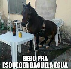 Post  #: Quem não já bebeu pra esquecer uma égua , dê o pri...