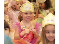 Children get the opportunity to dress up as their favorite princesses for the Princess Garden Tea Party at the Disney Store in the Laguna Hills Mall.