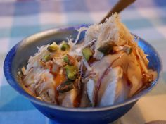 Nouvelle Israeli Cuisine: Vanilla Ice Cream with Tahini and Date Molasses