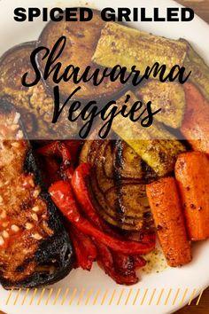 Veggies taste just like the meats in the Shawarma shops!