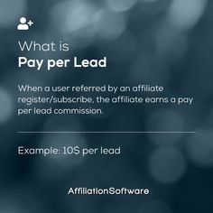 Do you like PAY PER LEAD? 😍 - Follow us for more affiliate marketing tips Like & share ❤️ - Start your own Affiliate Network and boost your sales with AffiliationSoftware - #affiliationsoftware #affiliatemarketing #affiliate #affiliateprogram #lead #cpl #payperlead #marketingdigital #marketing #technology Affiliate Marketing, Digital Marketing, Marketing Technology, Software, Tips, Counseling
