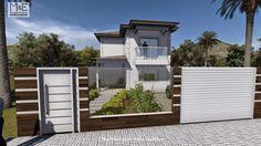 Construindo Minha Casa Clean: Fachadas de Casas com Muros de Vidro!!!