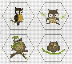 Owl Quaker Ball: Hexagons