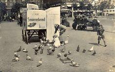 Smørrebrød på Rådhuspladsen 1938