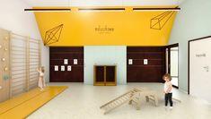 MODERN INTERIOR IN KINDERGARTEN Modern Interior, Kindergarten, Home Decor, Decoration Home, Room Decor, Modern Interiors, Kindergartens, Contemporary Interior, Modern Home Design