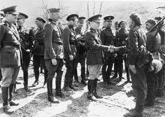 Ion Antonescu and Erich von Manstein. Leadership Abilities, Lead Soldiers, Socialism, Warfare, Ww2, World War, Victorious, Germany, Army