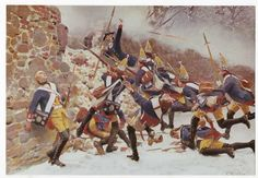 the Battle of Leuthen or Lissa, fought on 5 December 1757, Frederick II used maneuver and terrain to decisively defeat a much bigger Austrian army under Prince Charles Alexander of Lorraine, thus ensuring Prussian control of Silesia during the Seven Years' War.