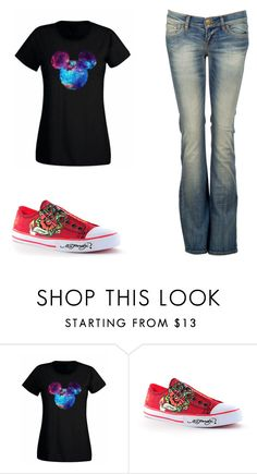 """""""Untitled 5074"""" by rosamariagonzales ❤ liked on Polyvore featuring Ed Hardy and LTB by Little Big"""