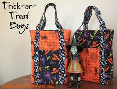 Crafty Home Improvement (Mis)Adventures: Trick-or-Treat Bags
