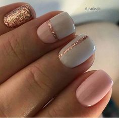 The advantage of the gel is that it allows you to enjoy your French manicure for a long time. There are four different ways to make a French manicure on gel nails. The choice depends on the experience of the nail stylist… Continue Reading → Perfect Nails, Gorgeous Nails, Pretty Nails, Gel Nail Art Designs, Short Nail Designs, Cute Toenail Designs, Elegant Nail Designs, Nail Designs With Glitter, Aztec Nail Designs