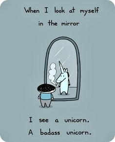 Yeah, I'm a Unicorn. A FLUFFY unicorn!! @Jamie Wise ray