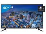 "Smart TV LED 40"" Samsung 4K/Ultra HD Gamer - UN40JU6000 Conversor Digital Wi-Fi…"