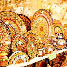 Ceramics, Sagres, Algarve, Portugal