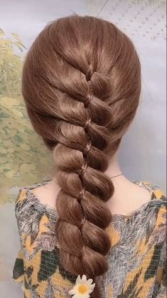Cute simple braided hairstyle for long hair hairstyle tutorial best hairstyles braids braided fashion hairstyle long hair girl easy Braided Hairstyles Tutorials, Easy Hairstyles For Long Hair, Braids For Long Hair, Girl Hairstyles, Wedding Hairstyles, Hairstyles Videos, Princess Hairstyles, Braids For Girls, Hairstyles For Medium Length Hair