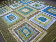 wonky log cabin quilt pattern | Wonky log cabin | Quilts | Pinterest