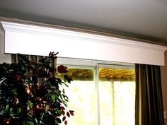 How to Build a Wooden Window Valance    A wood window valance adds dimension to your room by topping off a window or sliding-glass door.