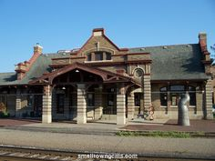 Train Depot in Red Wing, Minnesota Red Wing Minnesota, Train Stations, Bus Station, Going Home, Offices, Places Ive Been, Trains, Life Is Good, Mansions
