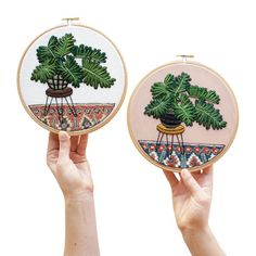 Advanced Hand-Embroidery Pattern By Sarah K. par SarahKBenning