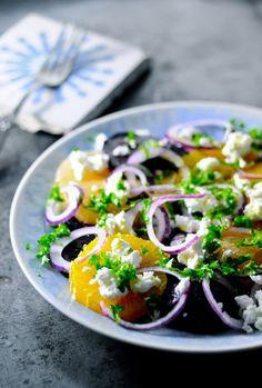 Vegetarian Meal Idea - February 12 2019 at Wine Recipes, Great Recipes, Salad Recipes, Cooking Recipes, Healthy Eating Habits, Healthy Snacks, Vegetarian Recipes, Healthy Recipes, Vegan Meals