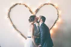 A Seattle warehouse #wedding full of #love.