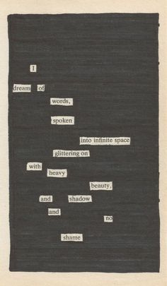 Newspaper Blackout Poems: A Creative Way To Write Poetry. @Eva Koninckx Fondry I found a new project for us!!