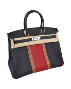 Hermes Birkin Club Bag 35 Indigo/casaque/fauve Brand New