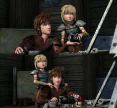When Astrid helps Hiccup with the new incredible dragon eye <33 #hiccup #rtteseason5 #racetotheedge #rtte #astridhofferson #hiccstrid