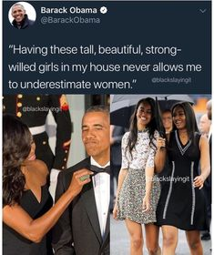 President Barack Obama Never Underestimated Women.