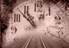 Entry Point - The entry point of this design is subtle where the train tracks lead into the center of the clock, leaving a sense of mystery as to what is on the other side. Time Travel Machine, Hd Space, Unexplained Mysteries, Night Circus, Train Tracks, Past Life, Michigan, Mystery, Photos