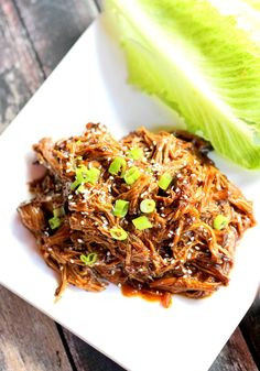 This Slow Cooker Beef Teriyaki Lettuce Cups Recipe is low-carb and can easily be adjusted for special diets. Even better, it's made in the slow cooker!! Get your Asian Food Fix with limited time of effort!!