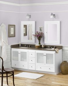 Shaker Vanity from Ronbow's Modular Collection ronbow.com