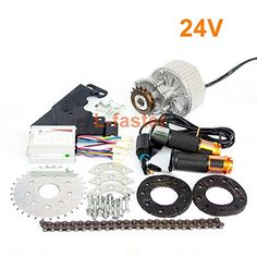 Newest Electric Bike Left Drive Conversion Kit Can Fit Most Of Common Bicycle Use Spoke Sprocket Chain Drive For City Bike New Electric Bike, Chain Drive, Conversation, High Speed, Bicycle, Kit, Type, Products, Road Cycling