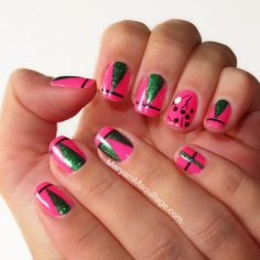 ! Maryam Maquillage !: Pink-n-Green for Spring!