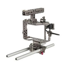 Ikan EST17 Sony Alpha Series Handheld Camera Cage Rig for the a7Ra7RIIa7S  a7SII Black *** Check this awesome product by going to the link at the image.