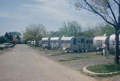 Old Trailer Park Pictures | Old trailer park in East Potomac Park, 1960 | Flickr - Photo Sharing!