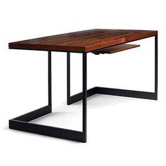 Wishbone Slab Top Desk
