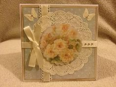shabby Chic Handmade card Any occasion on sale in my Zibbet shop