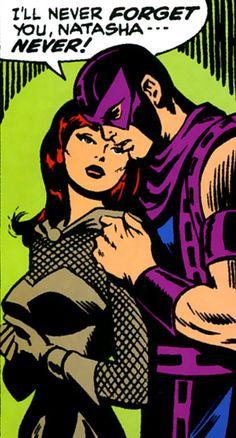 Black Widow and Hawkeye Avengers Team, Avengers Characters, Young Avengers, Marvel Avengers, Marvel Women, Dc Comics Art, Marvel Dc Comics, Marvel Couples, Clintasha