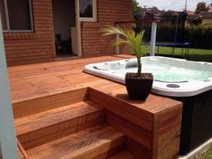 Top 80 Best Hot Tub Deck Ideas - Relaxing Backyard Designs Discover relaxing outdoor extensions of the home with the top 80 best hot tub deck ideas. Explore backyard designs made to enjoy year-round. Backyard Design, Deck Designs Backyard, Building A Deck, Hot Tub Designs, Pool Hot Tub, Tub, Diy Deck, Relaxing Backyard