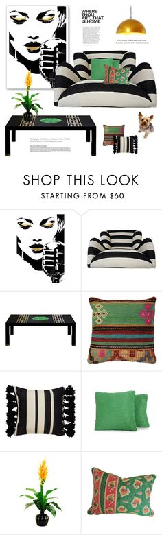 """""""Home"""" by maitepascual ❤ liked on Polyvore featuring interior, interiors, interior design, home, home decor, interior decorating, Kate Spade, Joybird, Designs by Lauren and Hedi Slimane"""