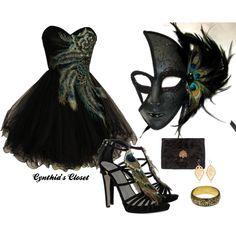 I love love love this! Makes me want to go to a Masquerade ball! @Elizabeth Lockhart Lockhart Petty