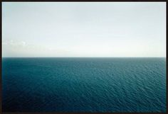 Wolfgang Uhlig, sea #1, 2007 / 2008 © www.lumas.de/ #Lumasblau,  Fotografie,  Himmel,  Horizont,  Landschaft,  meditativ,  Meer,  Meere,  Natur,  Ozean,  Ozeane,  Wasser,  Welle,  Wellen